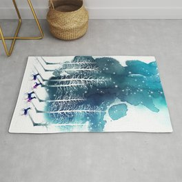 Winter Night 2 Rug
