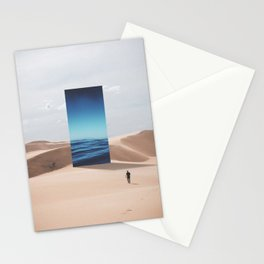 It's All Mirage Stationery Cards