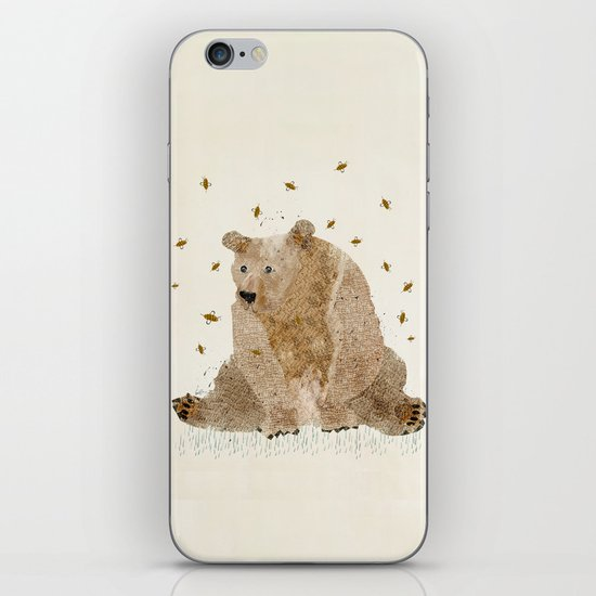 bear grizzly  iPhone & iPod Skin