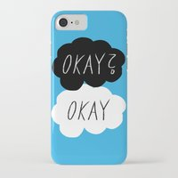 okay iPhone & iPod Cases featuring Okay? Okay by Lola
