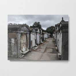 A Cemetery in New Orleans Metal Print