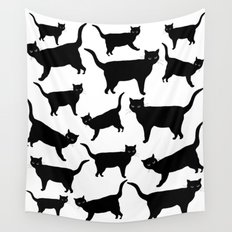 acro-cats Wall Tapestry
