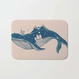 Home (A Whale from Home) Bath Mat