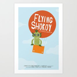 Flying Shokoy (Philippine Mythological Creatures Series) Art Print
