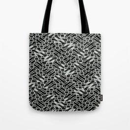 Black and White Design Tote Bag