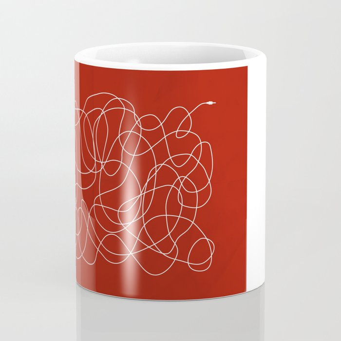 Headphone Maze Coffee Mug