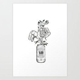 Victoria Bitter Art Print