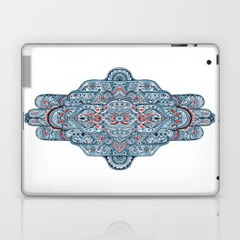 Hand painted symmetrical pattern Laptop & iPad Skin