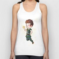 peter pan Tank Tops featuring Peter Pan by Sunshunes