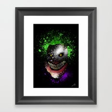 Hi, I'm Jo! (Mask) Framed Art Print