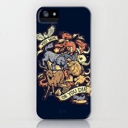 Win or Die iPhone Case