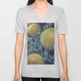 Boho Cactus Garden Unisex V-Neck