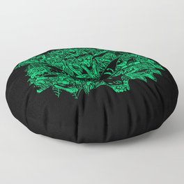 Kitty Witches Floor Pillow