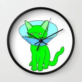 """""""Heckin Angry Lampshade"""", by Brock Springstead Wall Clock"""