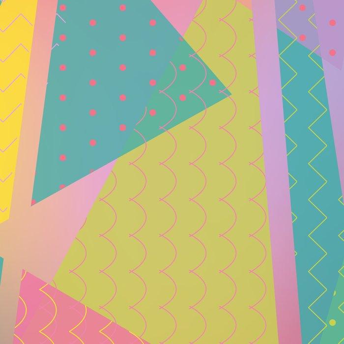 Abstract Geometric Pattern - Sugar Crush Leggings