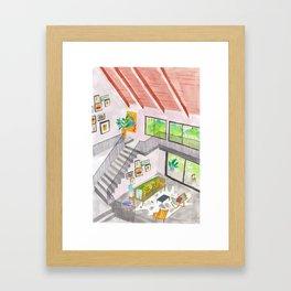 House in Clifton Hill Framed Art Print