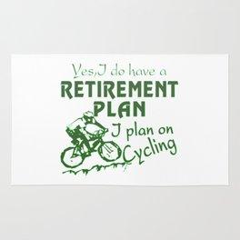 Cycling plan Rug