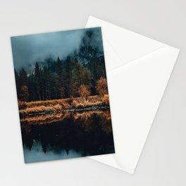 Moody Yosemite Reflections Stationery Cards