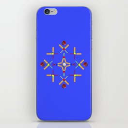 Sport Of Cricket Design iPhone Skin