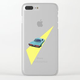 Open Road Clear iPhone Case