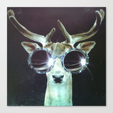 Deer in Headlights Canvas Print