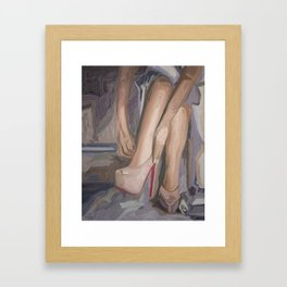 Kiss of Red Framed Art Print