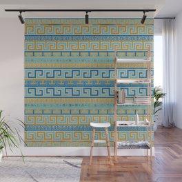 Meander Pattern - Greek Key Ornament #3 Wall Mural