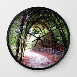 Secret Road Wall Clock