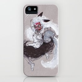 Mononoke Hime iPhone Case