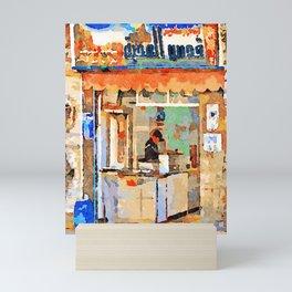 Shop in Aleppo Mini Art Print