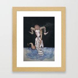 Capricorn Framed Art Print