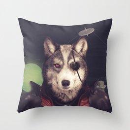 Star Team - Wolf Throw Pillow
