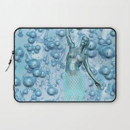 Metal Mermaid Laptop Sleeve