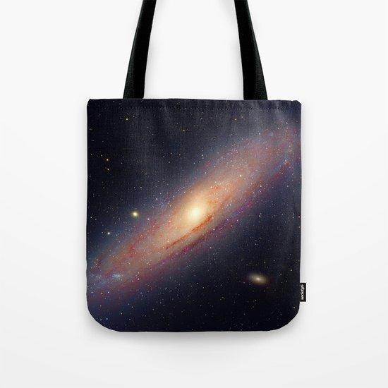 Spiral galaxy Tote Bag