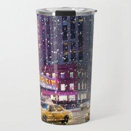 New York City Radio City Friday Nights Travel Mug
