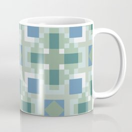 Gentle Shaded Plaid Coffee Mug