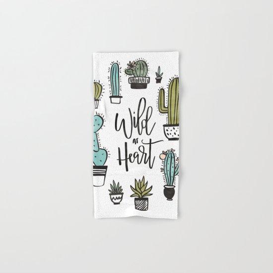 Wild at Heart Hand & Bath Towel