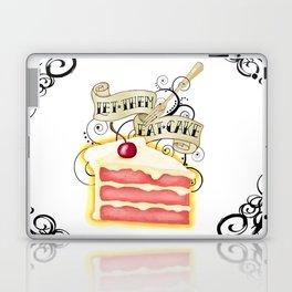 Let Them Eat Cake Vintage Tattoo Style Laptop & iPad Skin
