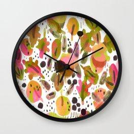 Warm & Punchy Wall Clock