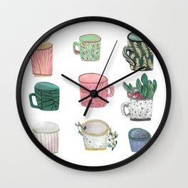 Pattern Cups - Asma Original Wall Clock