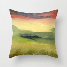 Fields of Grain Throw Pillow