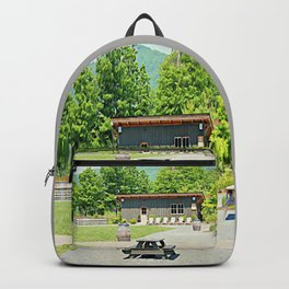 Little Shanty In The Hills Backpack