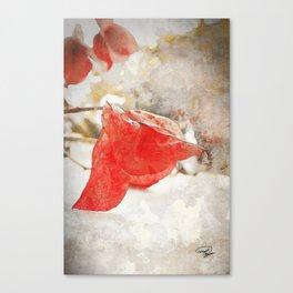 LAST KISS Canvas Print