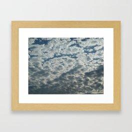 Cotton Cload Framed Art Print