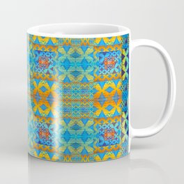 Glowing African Inspired Geometric Print Coffee Mug
