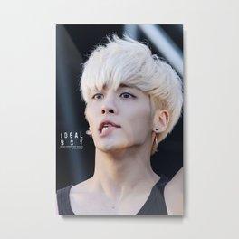 kim jonghyung shinee Metal Print