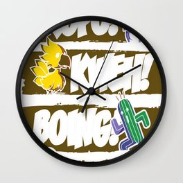 What Does the Tonberry Say Wall Clock