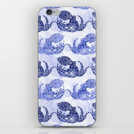 Mythic Octopus - Indigo iPhone Skin