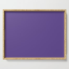 Solid Ultra Violet pantone Serving Tray