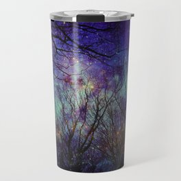 starry night in the bulgarian forest Travel Mug
